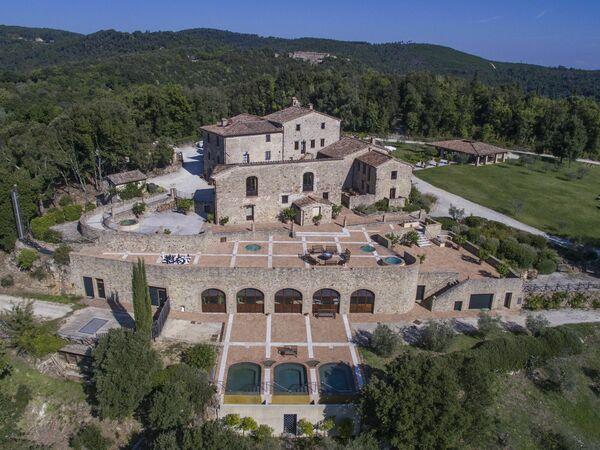 Toskánsko, Iesa, Villa Vittorio