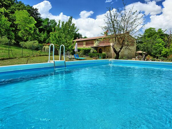 Toskánsko, San Gimignano, Villa Diletta