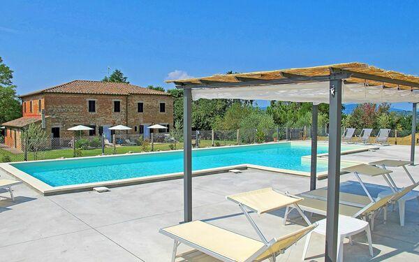 Umbrie, Castiglione Del Lago, Casale Mitzi