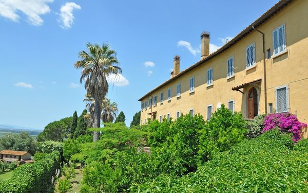 Villa Il Principe in  Marsiliana -Toskana