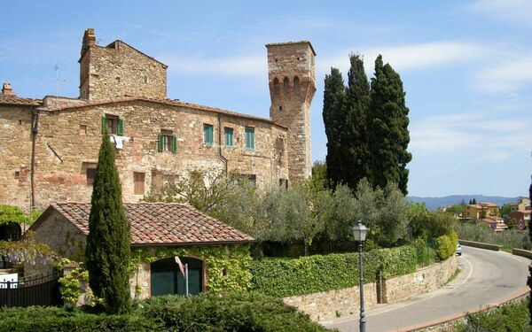 Ciclamini, Holiday Apartment for rent in San Donato, Tuscany