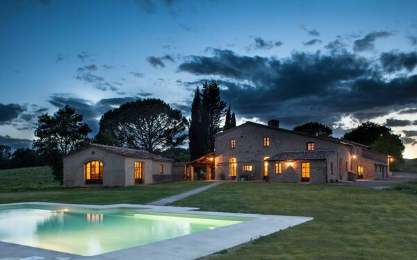 Villa Senese, Villa for rent in Buonconvento, Tuscany